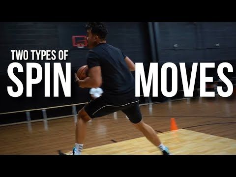 Two Types Of Spin Moves With Dj Sackmann Hoopstudy Basketball Youtube In 2020 Basketball Dj Spinning