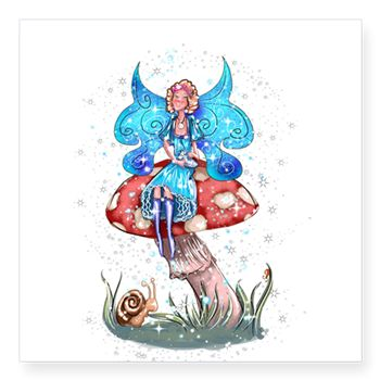 Sticker www.teeliesfairygarden.com Express yourself with the design that fits your sense of humor, political views, or promotes your cause and beliefs. #fairysticker