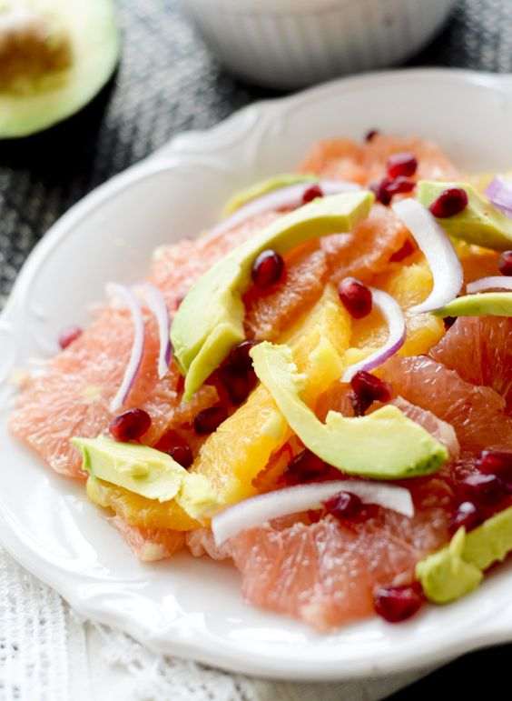 Citrus, Pomegranate, and Avocado Salad | Recipe | Avocado salads, Blog ...