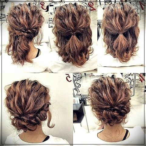 Step By Step Hairstyles For Women Hairstyles Gallery Site Easy Hairstyles Hair Styles Short Hair Styles Easy