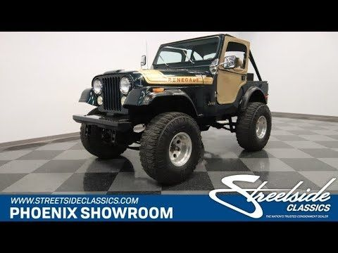 1976 Jeep Renegade For Sale 0804 Phx Classic Car S Video