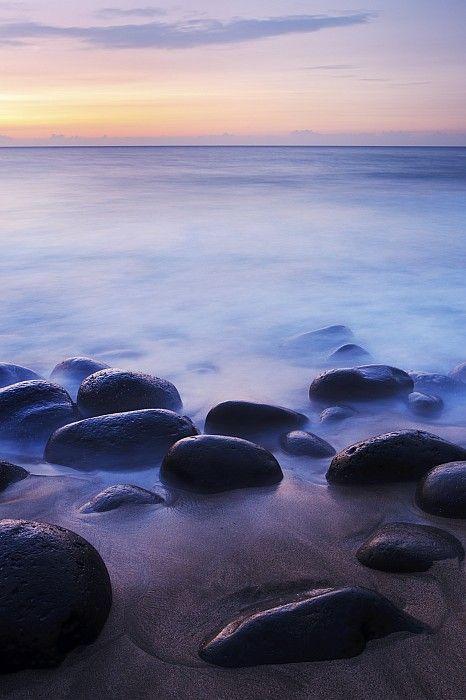 Sunset Over Kalalau Beach, #Kauai Hawaii