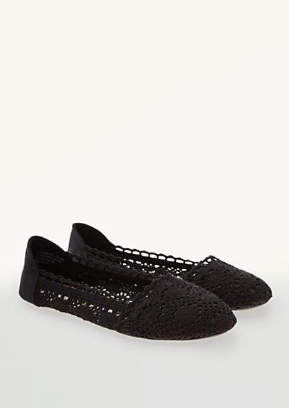 image of Crochet Ballet Flats