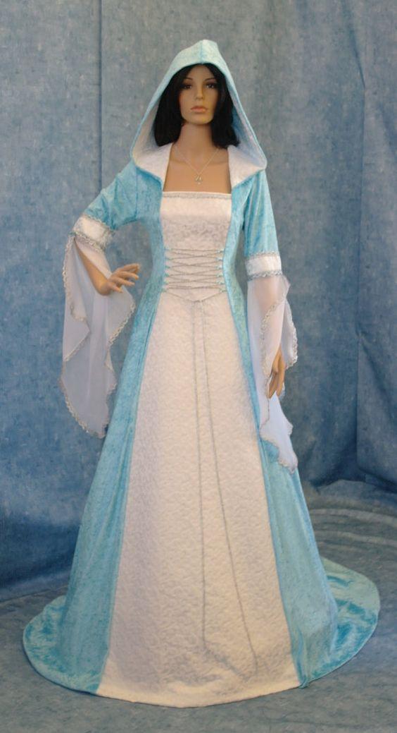mittelalterliche Handfasting Renaissance Kleid maßgefertigt