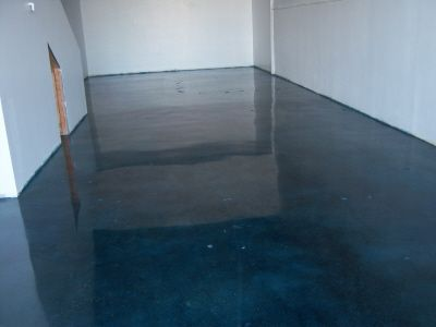 acid etching concrete stain concrete stain stained