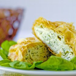 The Midnight Baker: Savory Cheese & Spinach Strudel