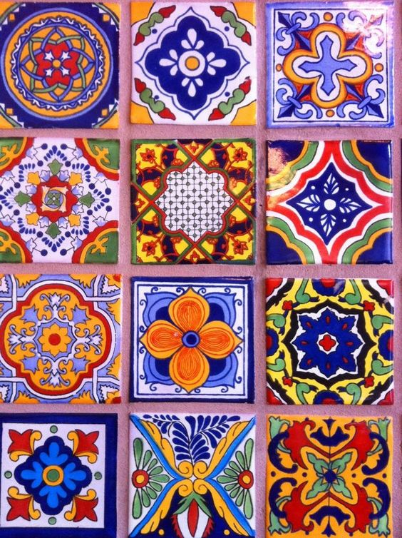 Mexican tiles talavera style we have tile similar to this for Spanish decorative tile