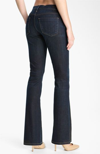 Citizens of Humanity 'Dita' Bootcut Jeans (Felt Dark Blue) (Petite) available at #Nordstrom