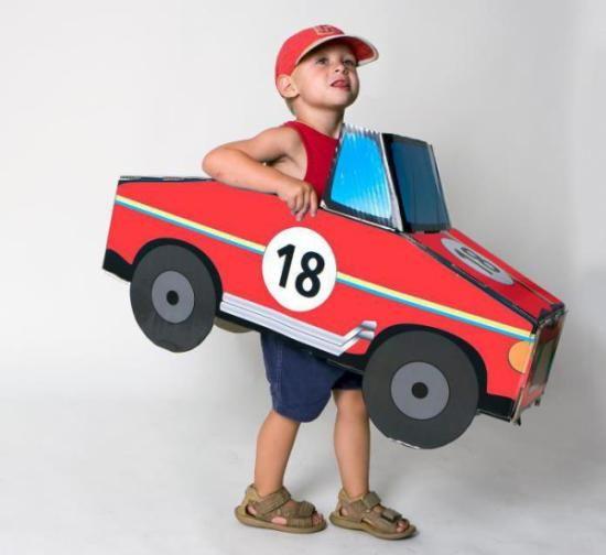 Resultado de imagen para carros con cajas de carton