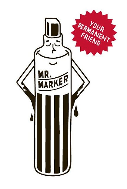 Mr. Marker - The tagline totally makes this