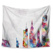 New York by Mareike Boehmer Wall Tapestry