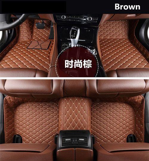 For Jaguar Xf Xfl 2016 2017 2018 Floor Mats Foot Step Mat High Quality Embroidery Leather Mats Review Jaguar Xf Toyota Land Cruiser Car Mats