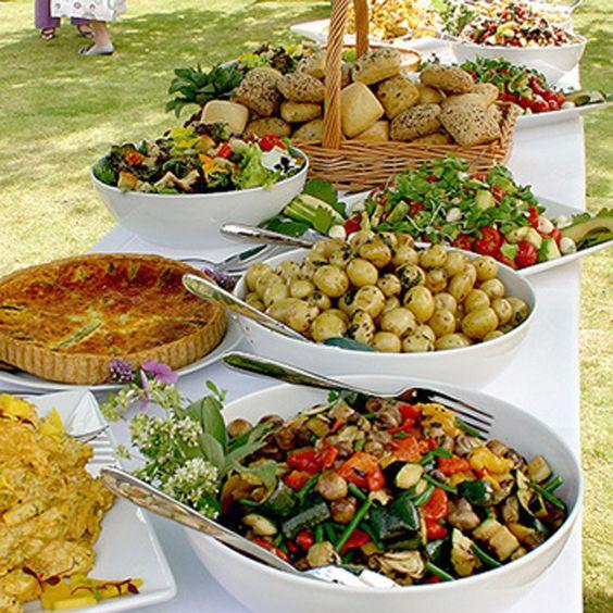 Wedding Reception Buffet Menu Ideas