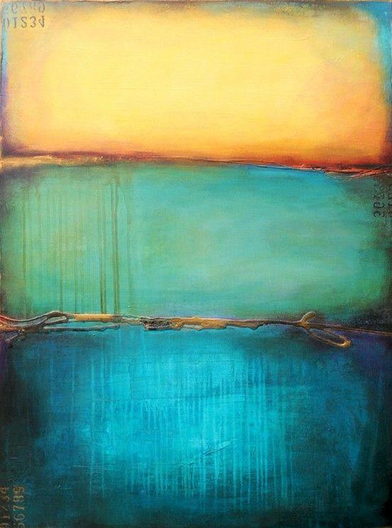 Mark Rothko Iets van de treurigheid in mij ontmoet iets van de treurigheid in jou, zodat we niet alleen zijn.