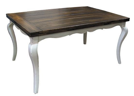 NEW Elegant French Country Table for custom finishing (bordeaux / cabriole legs). $1,095.00, via Etsy.