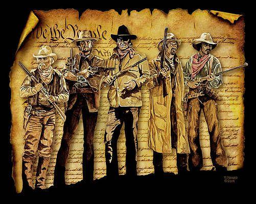 John Wayne Wall Art Painting Border Patrol By Tim Joyner Wall Art Painting Art Fine Art America