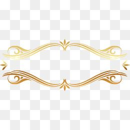 Golden Border Royal Frame Flower Png Images Cool Powerpoint Backgrounds