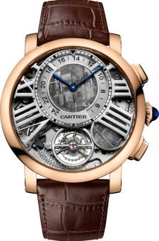 Cartier Rotonde de Cartier Earth and Moon Tourbillon