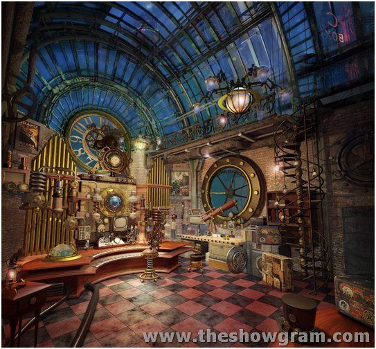 image result for steampunk architecture homes steampunkjulesverne_hgwells pinterest steampunk and searching - Steampunk Interior Design Ideas