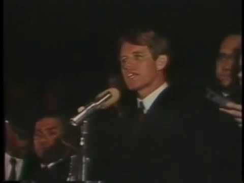 Indianapolis 1968 Bobby Kennedy Martin Luther King And A