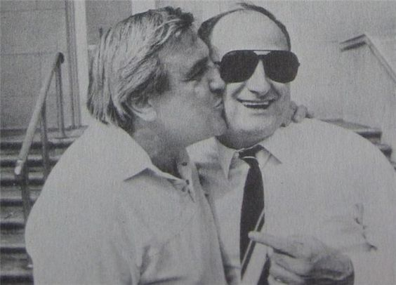 Anthony 'Tumac' Accetturo on the left side, capo of the Jersey Crew, The Lucchese Crime Family.