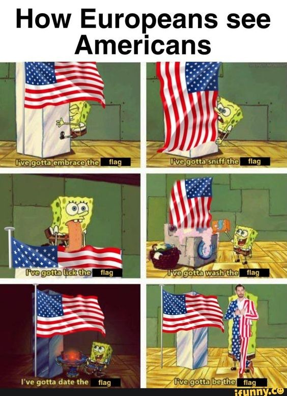 How Europeans See Americans