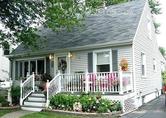 Cape Cod Front Porch Ideas Sevenis Me House With Porch Cape Cod House Exterior House Exterior