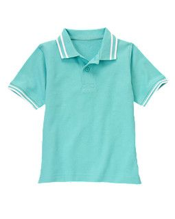 Tipped Pique Polo Shirt- All of the coolest polos are made for kids!