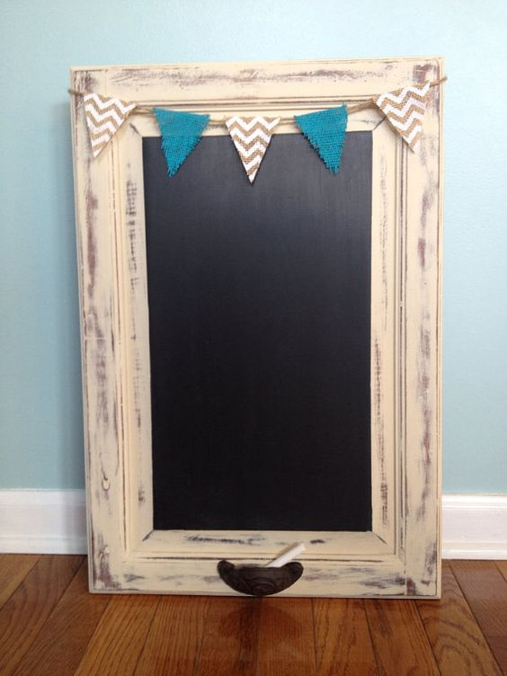 Cabinet Doors Chalkboards And Repurposed On Pinterest
