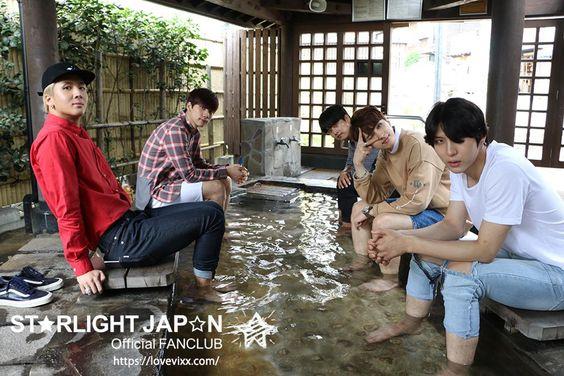 季節の変わり目…肌寒さを感じると思い出しますね。温泉。 9月、VIXX達はこんな休日を過ごしていました。  #VIXX