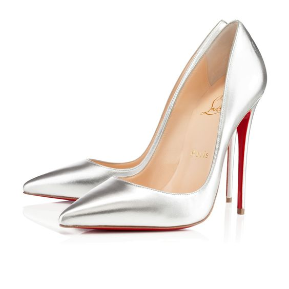 SO KATE KID,SILVER,Kid,Louboutin,Women Shoes