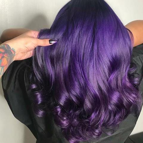 Iroiro 20 Purple Natural Vegan Cruelty Free Semi Permanent Hair Color Permanent Hair Color Hair Color 2018 Semi Permanent Hair Color