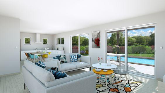12 best Intérieurs maisons 3D images on Pinterest - logiciel gratuit plan maison exterieur