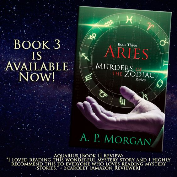 Aries by A. P. Morgan | Book Release