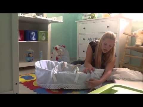 como decorar el moiss para nuestro bebe paso a paso youtube