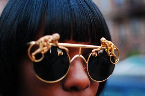 HA! Monkey Glasses ...