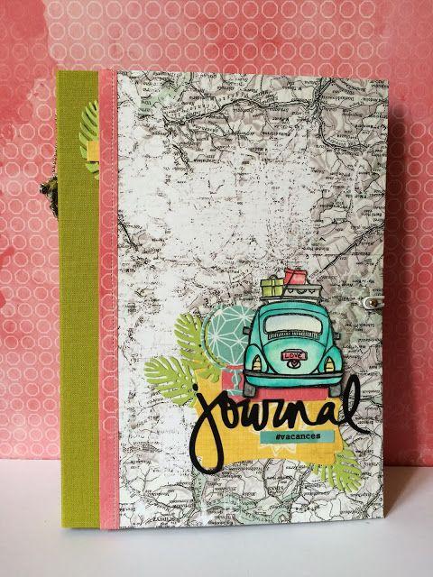Feebellescrap: Carnet de voyage pour nos vacances en Italie...