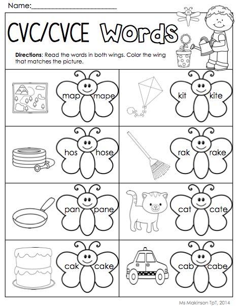 1000+ images about Phonics Worksheets on Pinterest   Worksheets ...