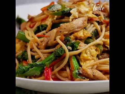 Chicken Vegetables Pasta Stir Fry Vegetable Pasta Chicken Pasta Recipes Chicken And Vegetables