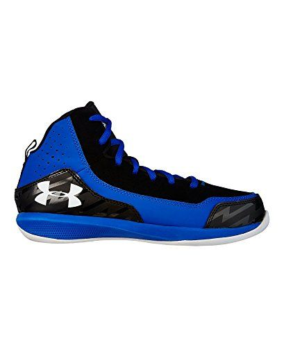 blue under armour basketball shoes