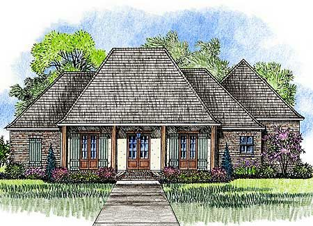 Plan 56379sm Acadian House Plan With Great Rear Porch