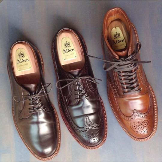 Shell cordovan shoes