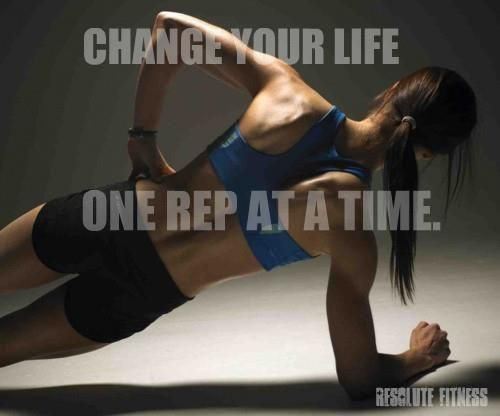 change your life, fitness