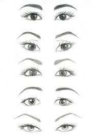 how to draw realistic eyebrows step by step - Google Search