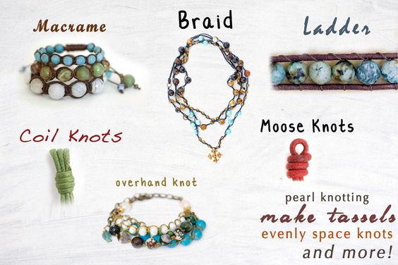 "The knotty do it all ""Macrame"" bracelet featured in Sova-Enterprises.com Newsletter"
