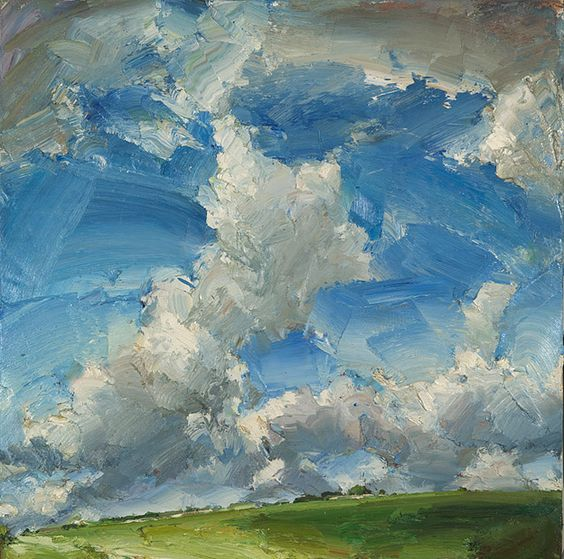 love this sky texture!!  Oliver Akers Douglas, Big Day