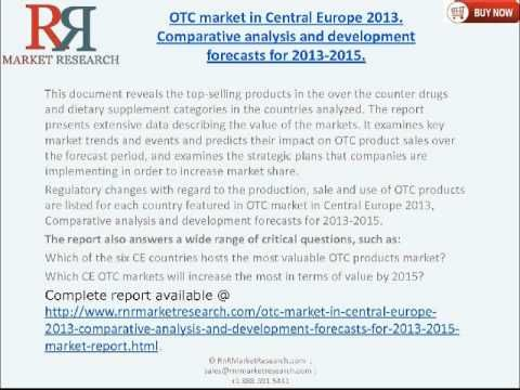 OTC Market in Central Europe 2015 - Market Research Report - http://getthetrafficnow.com/market-research/otc-market-in-central-europe-2015-market-research-report/