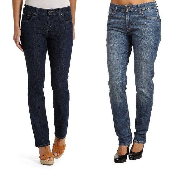 Levi's Mid Rise Skinny Denim Jeans Women's size 2 2P 4 6P 8P 10P ...