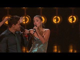 """The Sing-Off: Party Anthems: Calle Sol: Livin' La Vida Loca -- The members of Calle Sol swing their hips to """"Livin' La Vida Loca"""" by Ricky Martin. -- http://wtch.it/bPjO2"""