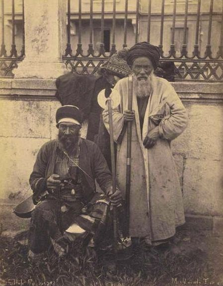 #Turkish #dervishes during the #Ottoman Empire. Photo by the Abdullah Frères. #Islam #Sufism